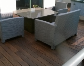 Balkon Thermory QuickDeck